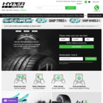 20% off Tyres at Hyperdrive.co.nz