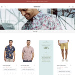 40% off Storewide @ Barkers (in-Store & Online)