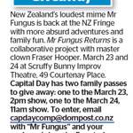 Win 1 of 2 Family Passes to Mr Fungus Returns from The Dominion Post (Wellington)