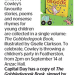 Win a Signed copy of The Gobbledegook Book from The Dominion Post