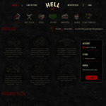 Free Delivery (Min. $20 Spend) @ Hell Pizza
