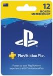 PlayStation Plus 12 Month Membership $67.45 (Digital Code) @ MightyApe/The Warehouse/JB Hi-Fi