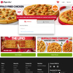Free Garlic Bread with Any Delux Pizza @ Pizza Hut