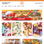 15% off Everything (No Minimum Purchase Amount) @ Cookie Time