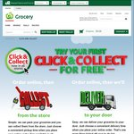 Free Click & Collect Service (Save $5) at Countdown Supermarkets (New Click & Collect Customers)