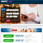 22% off Hotel Bookings @ Orbitz