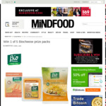 Win 1 of 5 Biocheese Prize Packs from Mindfood