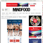 Win 1 of 10 Double Passes to 'Sink or Swim' from Mindfood