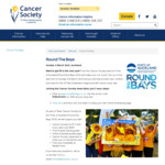 Get 30% off Round The Bays entry via Cancer Society