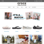 30% off this Sunday (12/5) @ Crocs