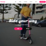 10 Free Minutes on Flamingo Scooters