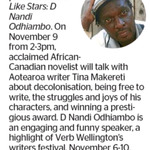 Win 1 of 2 Double Passes to Smells Like Stars: D Nandi Odhiambo from The Dominion Post (Wellington)