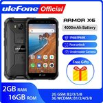 Ulefone X6 Ip68 Rugged Waterproof Smartphone Android US $69.99 (~NZD 108) + 15% GST + Free Shipping @AliExpress ULEFONE