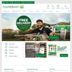 Free Delivery (Min Spend $200) @ Countdown