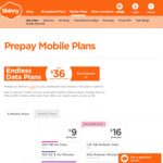 Skinny Prepay Endless Data: 4.5GB Fast Data Then 1.2mbps Afterwards, Unlimited NZ&AU Calls and Text $36/28 Days