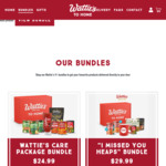Wattie's Care Package Bundles from $24.99 Delivered @ Watties to Home
