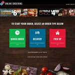 40% off Pizzas (Excludes Value and Extra Value) + More @ Domino's Pizza