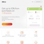 Alibonus - 7% - 10% Cash Back for Items Purchased on AliExpress