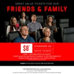 Event Cinemas $8 Standard Movie Tickets