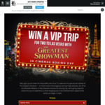 Win a VIP Trip for 2 to Las Vegas, Nevada or 1 of 18 Daily Prizes from NZME
