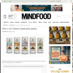 Win 1 of 4 Simon Gault Prize Packs from Mindfood