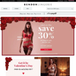 30% off on All Lingeries Sets @ Bendon Lingerie