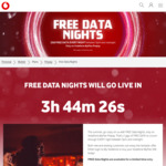 Free 2GB Data 5pm until 12midnite Everynight on Flexi & Mates Prepay Plan (New & Existing Customers) @ Vodafone NZ