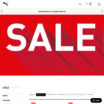 Extra 50% off (Stacks with Sale Items) @ Puma