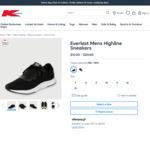 Everlast Mens Highline Sneakers (Navy Colour) $10 @ Kmart