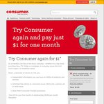 Try Consumer.org.nz for $1 (Silver Membership, 1 Month)