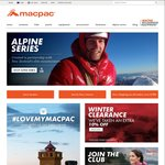 Extra 10% off Macpac Clearance