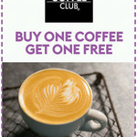 The Coffee Club - Buy One Get One Free Coffee / Buy One Get One Half Price Lunch and Breakfast - Sky Perks