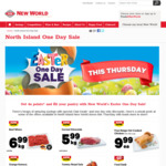 Easter One Day Sale (Beef Mince - $6.99/Kg, Corned Silverside - $5.99/Kg & More) @ New World