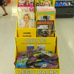 Lego Packs $1 When You Purchase a Participating Magazine, Free $5 Hell Pizza with Womans Day @ Countdown