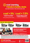 Noel Leeming Friends & Family Cost +5% & 7.5% National (19/11-25/11) @ Noel Leeming