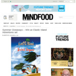 Win 1 of 6 Elastic Island Adventures Sets from Mindfood