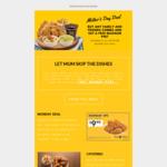 5 Pieces Chicken $9.90 @ Texas Chicken (Mondays)