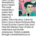 Win 1 of 2 Double Passes to see Adam Wright from The Dominion Post (Wellington)
