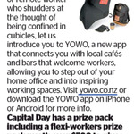 Win a Flexi-Workers Prize Pack (Worth $500) from The Dominion Post