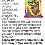 Win 1 of 2 Sour Patch Kids Prize Packs from The Dominion Post