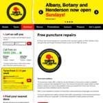 Free Puncture Repairs for All Tyres Purchased @ Tony's Tyre Service