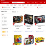 LEGO Buy 1 Get 1 Half Price @ The Warehouse