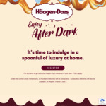 Win Free Ice Cream Delivered to House from Haagen Daz