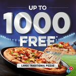Free Pizza if All Blacks Win Against Australia @ Domino's