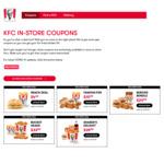 Famous Five: 5pcs Secret Recipe Chicken, Lge Chips, Lge Potato & Gravy, 2 Bread Rolls - $15.99 @ KFC