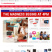 Monday Madness $5 off Every $50 Spend at The Warehouse