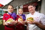 Free White Lady Burgers (Total Limit 500) @ Britomart on Wednesday 1st August, 12pm to 2pm