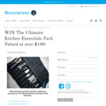 Win The Ultimate Kitchen Essentials Pack Worth over $190 from Messermeister Australia and New Zealand
