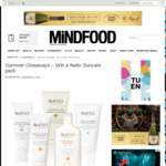 Win 1 of 5 Natio Suncare Packs from Mindfood