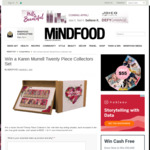 Win a Karen Murrell Twenty Piece Collectors Set (Worth $500) from Mindfood